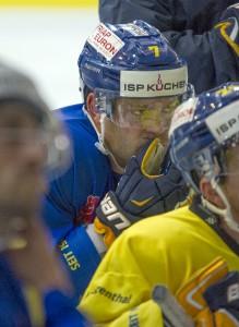 NLB Eishockey; Joel Fröhlicher, SC Langenthal. Foto: Leroy Ryser